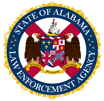 The State of Alabama Law Enforcement Agency Logo
